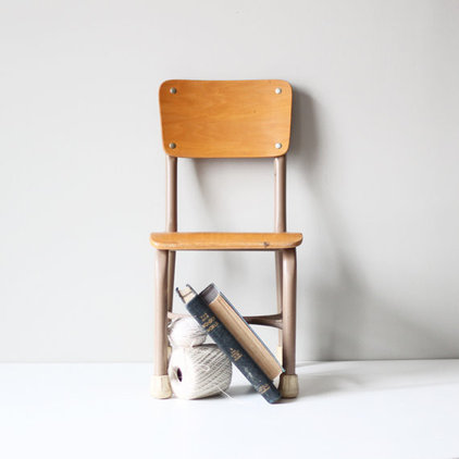 traditional kids chairs by Etsy
