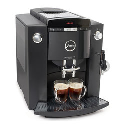 Jura - Jura Impressa F50 Classic - The Jura Impressa F50 Classic offers easy preparation of espresso, cappuccino, coffee, latte or macchiato. It features a built in grinder and its operation is controlled by a intuitive rotary switch and LED text display.