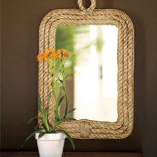 Eclectic Mirrors Hyannis Rope Mirror