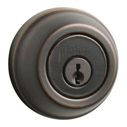 KWIKSET - 780 11P Rcal Rcs K3 Single Cylinder Deadbolt - Single cylinder deadbolt - Pin & Tumbler