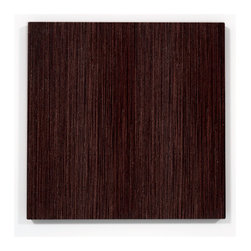 Wenge Wood Wall Art - Beautiful Wenge Wood Wall Art perfect for any contemporary or modern space.