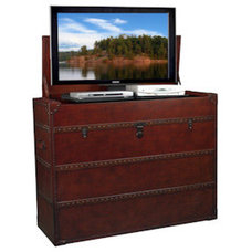 Entertainment Centers And Tv Stands Antiquity TV Lift Cabinet