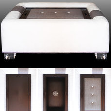 Contemporary Ottomans And Cubes by TrueBee® Design