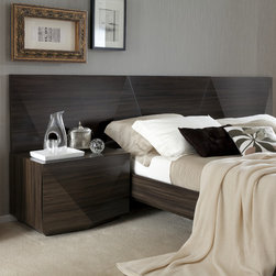Rossetto Sapphire bed -