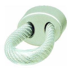 Hafele - Hafele Handle Zinc Nickel Matt / Wire Clear Plastic Cover M4 21 X 35 X 10 - Hafele Handle Zinc Nickel Matt / Wire Clear Plastic Cover  21 X 35 X 10