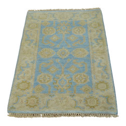 1800-Get-A-Rug - Oushak Sky Blue Washed Out Oriental Rug Handmade 100% Wool Sh20127 - Oushak stands for the western Anatolian Turkish city, known for its rare collectible rugs handmade during the Ottoman Empire. Today we are recreating these historical carpets, in the centuries-old hand weaving techniques, the same fantastic designs in a variety of colors to fit today's decor and taste using natural dyes and hand spun wool. Ziegler stands for Ziegler and company, German based oriental rug importer which operated between 1880-1920. They originally produced and imported these precious carpets in the Mahal region in Iran, specifing to the locals the German and European taste.