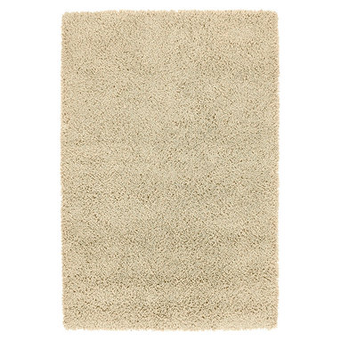 """Kaleen - Kaleen Desert Song Desert Song (Ecru) 5' x 7'9"""" Rug - Desert Song Shag is a totally irresistible collection of deep and ultra-thick comfort, handmade of 100% wool in India. A natural color pallet produced from felted yarns and spun from top quality 100% virgin wool, will bring your feet luxurious happiness!"""