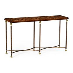 Jonathan Charles - New Jonathan Charles Console Table Walnut - Product Details