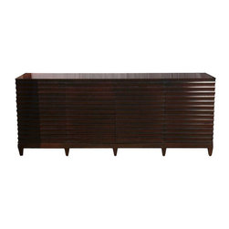 Baker Fluted Low Cabinet by Barbara Barry - $9,999 Est. Retail - $4,705 on Chair -
