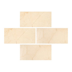 Stone & Co - Crema Marfil 3x6 Polished Subway Marble Tile - Finish: Polished
