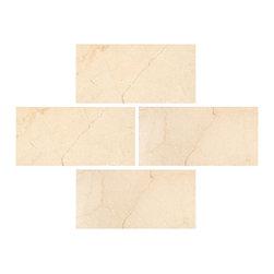 Stone & Co - Crema Marfil 3x6 Polished Subway Marble Tile - Finish: Polished