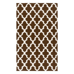 Artistic Weavers - Artistic Weavers York Olivia (Brown) 5' x 8' Rug - This Hand Woven rug would make a great addition to any room in the house. The plush feel and durability of this rug will make it a must for your home. Free Shipping - Quick Delivery - Satisfaction Guaranteed
