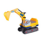 Vroom Rider - Vroom Rider Ride-on 6-Wheel Excavator Riding Push Toy - VREX01 - Shop for Tricycles and Riding Toys from Hayneedle.com! Your child will have hours of fun pretending to be a construction worker as he rides the Vroom Rider Ride-on 6-Wheel Excavator Riding Push Toy. Sturdily constructed of eco-friendly plastic this ride-on excavator sits on six rolling wheels and moves forward or backward with push. A real working lever makes scooping up dirt a breeze. For ages 2 to 5 years. Weight capacity: 66 lbs.About Vroom RiderConsidering the safety and well being of a child as being of paramount importance Vroom Rider a Merske LLC company enforces very strict safety and quality tests to make their toys absolutely safe to use. They believe that entertainment is crucial for children's development and achievement of new skills which is why they hire only specialists within the industry to research and design products that are safe useful durable and affordable. By using their own products in their homes as well as listening to their customers' feedback Vroom Rider is able to offer products that consistently meet their customer's expectations.