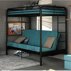 Dorel Twin-Over-Futon Contemporary Bunk Bed ? Walmart.com