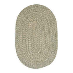 Colonial Mills, Inc. - Tremont, Palm Rug, 2'X6' - Kick off your shoes! A treat for the feet, this wool-blend rug has a wonderfully soft texture. And the easy-on-the-eyes neutral tones mesh well with any color scheme.