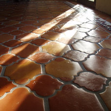 Mediterranean Floor Tiles by Rustico Tile and Stone