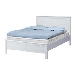 IKEA of Sweden - ASPELUND Bed frame - Bed frame, white