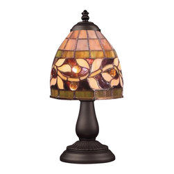 ELK Lighting - Elk Lighting Mix And Match Section Table Lamp in Tiffany Bronze - Mix And Match Section Tiffany Bronze Table Lamp