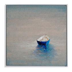 Bassett Mirror - Bassett Mirror Hand-Painted Canvas, Summer Solitude - Summer Solitude