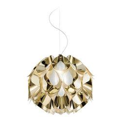 Slamp - Flora Metallic Medium Suspension Light | Slamp - Design by Zanini De Zanine, 2014.