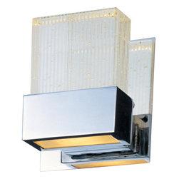 """ET2 - ET2 E22731-89 Fizz 5"""" Wide Single-Bulb Bathroom Light Fixture - Product Features:"""