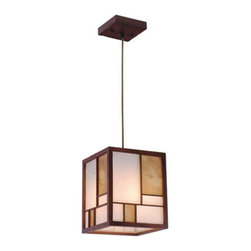Modern Little Sheep Wood and Parchment Paper Pendant Lighting -