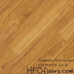 Earthwerks Wood Antique Beveled Edge Plank - Earthwerks Wood Antique, NWT9417CD-BE. Available at HFOfloors.com.
