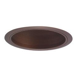 """Nora Lighting - Nora NTM-34 6"""" Bronze Stepped Baffle w/ Bronze Metal Ring - 6"""" Bronze Stepped Baffle w/ Bronze Metal Ring"""