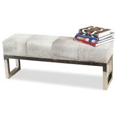 Transitional Benches by Kathy Kuo Home