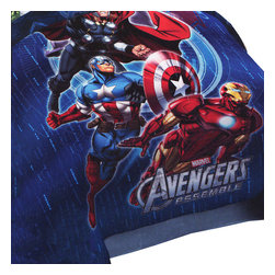 Jay Franco and Sons - Marvel Avengers Twin-Full Comforter Suit Up Bedding - FEATURES: