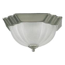 Quorum International - Quorum International Q3061-11 2 Light Flush Mount Ceiling Fixture - Quorum 2 Light Flush Mount Ceiling FixtureSpecifications:
