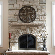 Contemporary Fireplaces by Heartstone Custom Builders