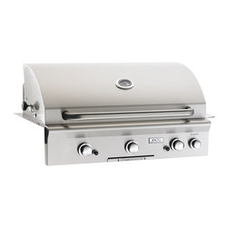 "American Outdoor Grill - 36PB American Outdoor Grill 36"" Built-In (LP) Gas Grill, Rotis - *630 square inches of primary grilling space a total cooking area of 805 square inches"