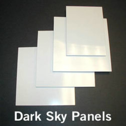Kichler - Kichler 4804WH Dark Sky Panel Set in White 4804WH - This light Dark Sky Panel Set from the Accessory collection by Kichler will enhance your home with a perfect mix of form and function. The features include a White finish applied by experts.Dark Sky panel setBulbs Included: No Collection: Accessory Energy efficient: No Fan Light Kit Included: No Finish: White Standard Pack: 1 Suggested Room Fit: Kitchen Weight: 0.2