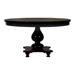 "Parker Table 48"" - This is a great classic table if you're looking to add a bit of elegance to your kitchen table. Perfect table for 4. It works in a kitchen and it can double as a game table in a family room - or if you have a great-room, it's perfect for both!"