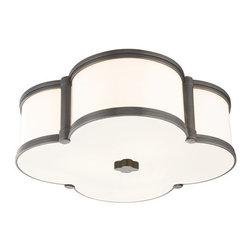 Hudson Valley Lighting - Hudson Valley Lighting 1216 Chandler 3 Light Flush Mount Ceiling Fixture - Product Features: