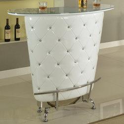 Chintaly Imports - Nolita Modern Home Bar, White - Nolita Modern Home Bar, White