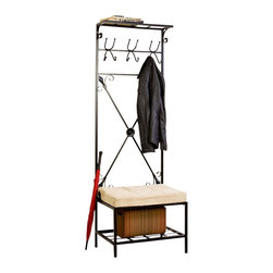 Holly Amp Martin Holly Amp Martin Leon Entryway Storage Rack