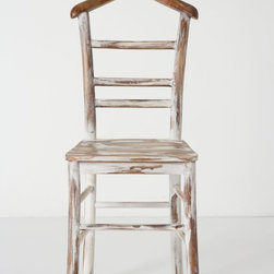 Something's Afoot Chair - This fun chair/clothes rack is definitely the conversation piece to have. Besides being able to always put a smile on my face, it's a multifunctional find.
