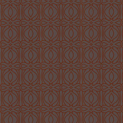 Graham and Brown - Baroque - Orange - The Baroque design epitomises Hulanicki's signature design style and her Art Deco influences but with a modern twist. Hulanicki explains, With this design we used a really rich color palette to create a Victorian-inspired geometric which is a good contrast with mid-century modern. This pattern uses Graham & Brown's paste the wall technology for easy application and removal in full strips.