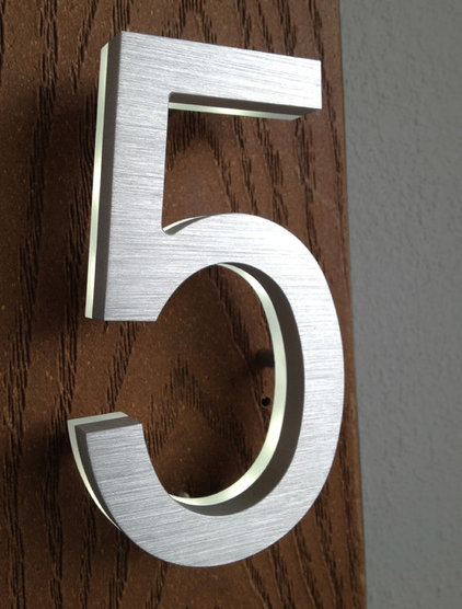 Modern House Numbers by Surrounding - Modern Lighting & Furniture
