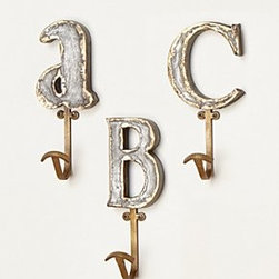 Anthropologie - Marquee Letter Hook - *Hanging hardware required