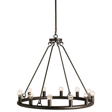 Rustic Chandeliers by Lightology