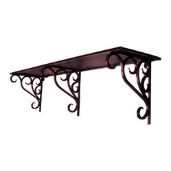Iron Artistica Multi Purpose 3 Bracket Iron Shelf