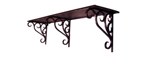 Iron Artistica - Iron Artistica Multi Purpose 3 Bracket Iron Shelf - This all-purpose iron shelf/rack has a transitional design that will compliment any current decor. This multi-functional piece is at home in the kitchen (to hold your spices), the hallway (to hold your coats, hats, and keys), and your powder room (to hold towels and personal bath items). This two tone bronze rust finish gives the appearance of an antique rustic piece. This piece is one of the most popular in our new collection, and you can imagine it doing duty as a coat rack and organizer in your foyer or mud room. Also a great gift item or housewarming present. DOES NOT include hanging hardware. Click Here to Compare pricing on all of our Coat Racks Additional Discounts may not apply to this item.