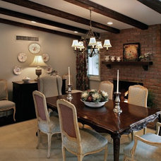 Traditional Dining Room by Ernesto Garcia Interior Design, LLC
