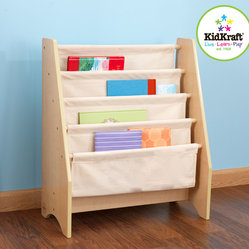 Kids Kraft Natural Sling Bookshelf