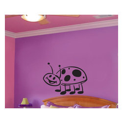 Cute lady bug Child Teen Vinyl Wall Decal - Vinyl Wall Quotes are an awesome way to bring a room to life!