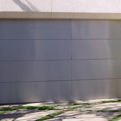 Copper Steel Garage Doors