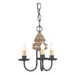 Bellview Wooden Chandelier in Americana Colors, Pearwood - The warm and welcoming glow created by our Bellview Chandelier will add a country elegance to your home. The Bellview is destined to become a homespun treasure.